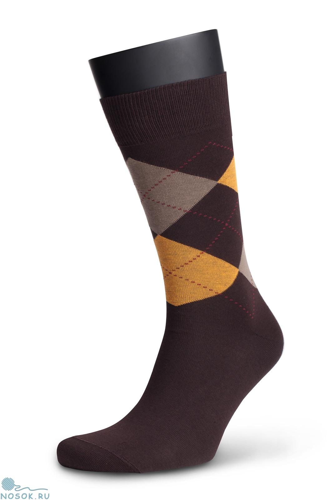 f8388d9f9e0 Мужские носки 4М-142 ромбы