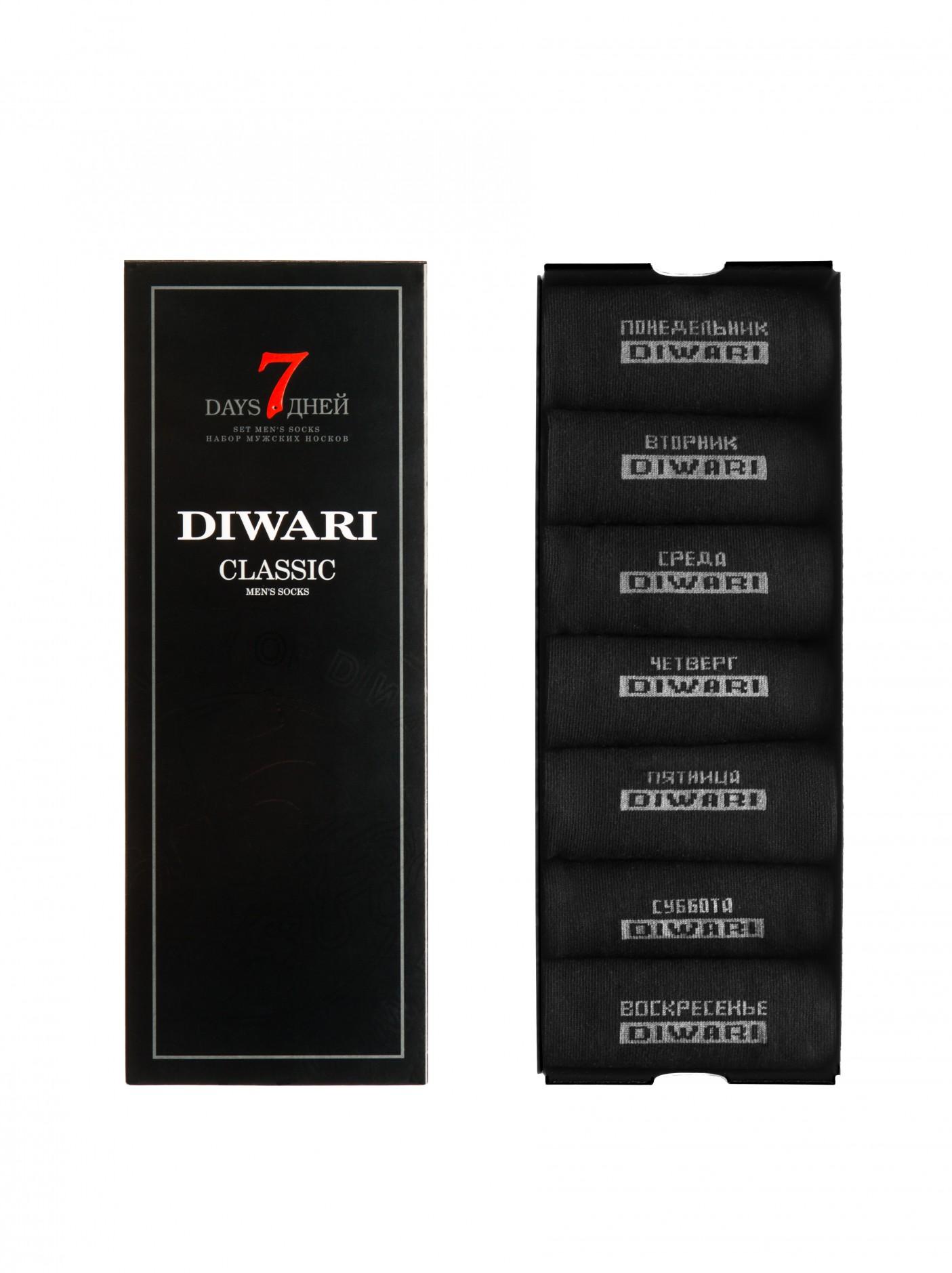 4553f359a74d DiWaRi Classic 5С-08СП, носки мужские неделька 7 пар