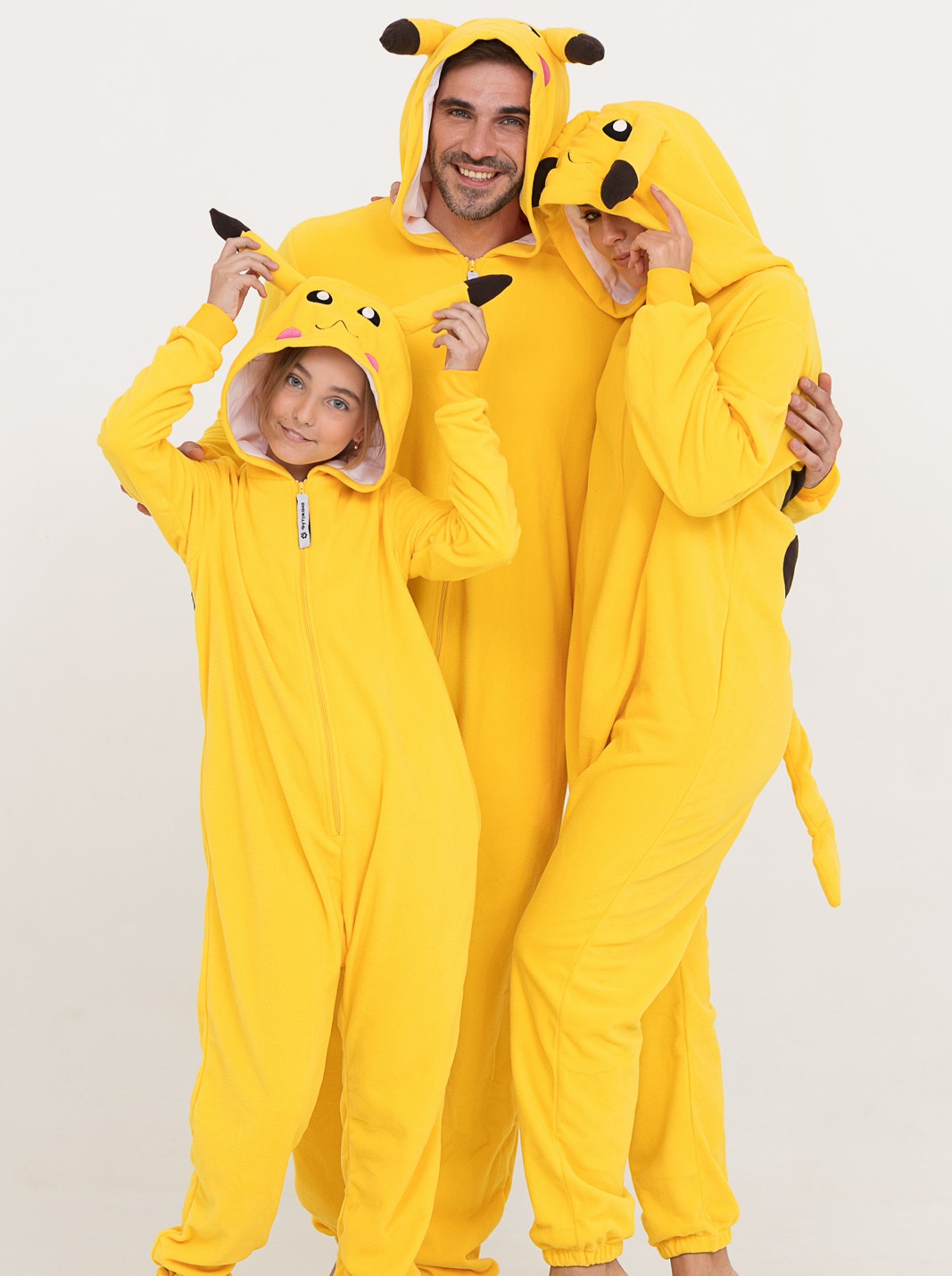 7c1edc7308d58 Пижама Пикачу, пижама-кигуруми - купить недорого цвета желтый с ...
