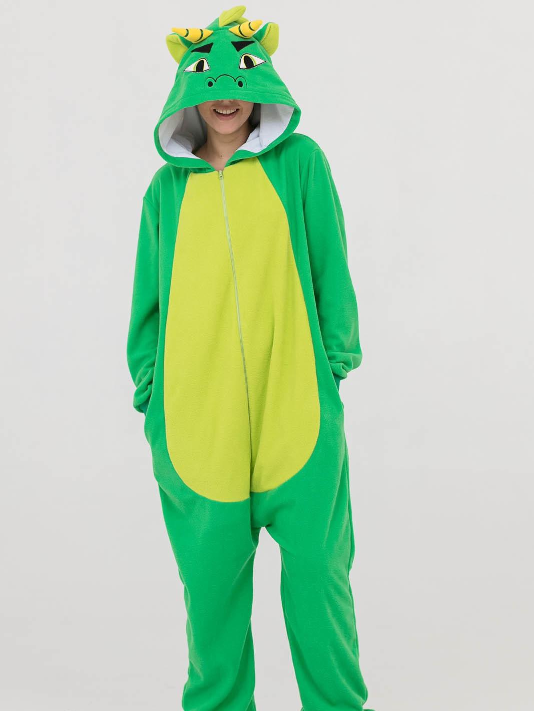 Детская пижама Дракон зеленый f1f144da963bc