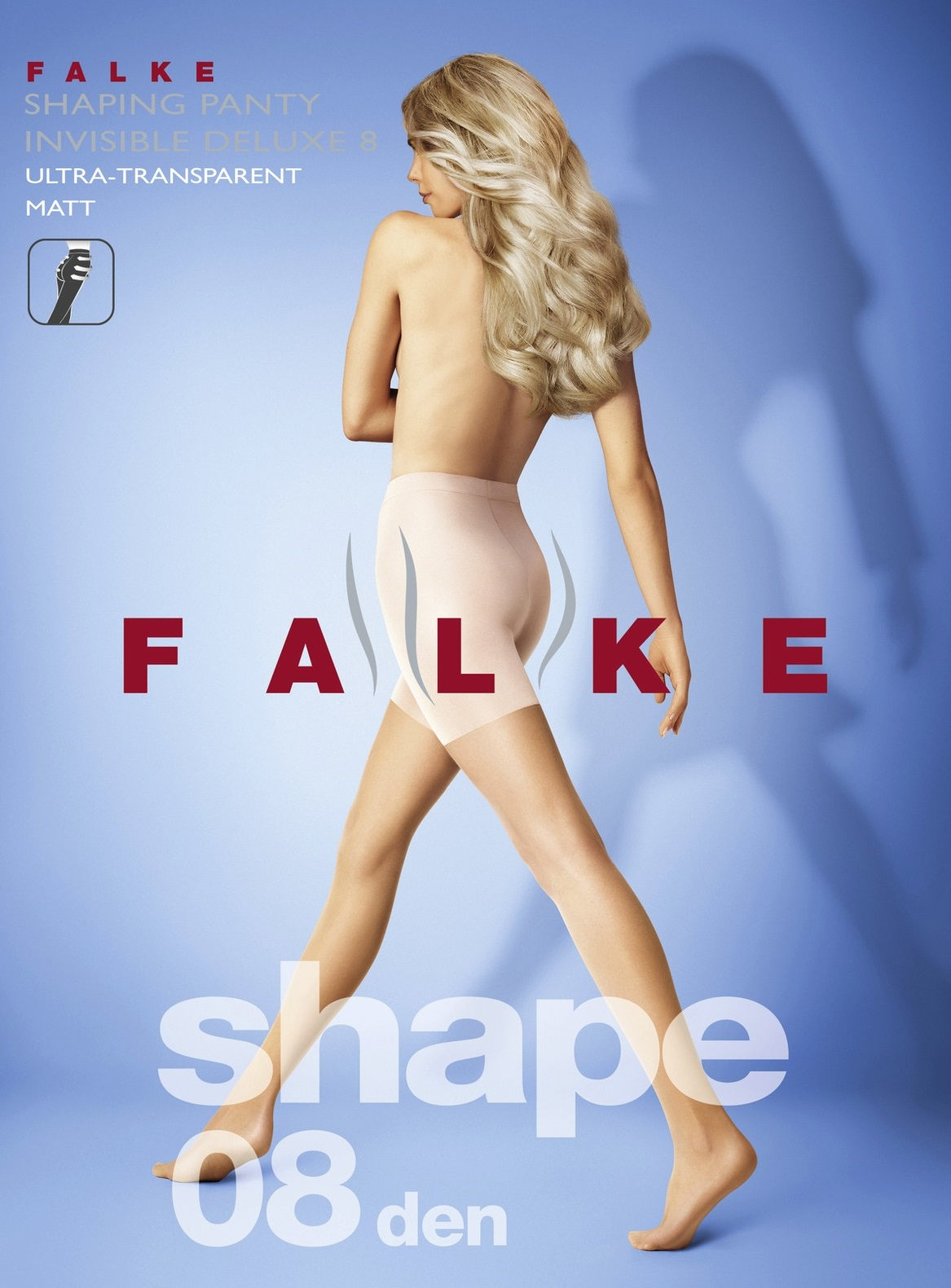 FALKE 40600 SHAPING PANTY 8 invisible deluxe, колготки